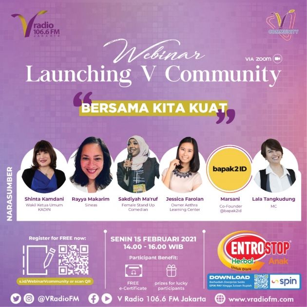 Ikuti Launching V Community